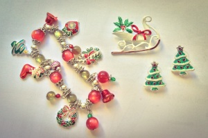 Miss Kittenheels' X-Mas Bling